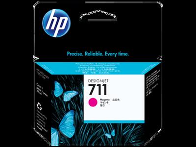 HP CZ131A (711) MACENTA 29 ML GENIS FORMAT MUREKKEP KARTUSU