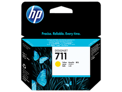 HP - HP CZ132A No 711 Sarı Kartus 29Ml