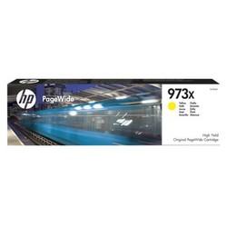 HP - HP F6T83AE (973X) SARI YUKSEK KAPASITELI PAGEWIDE MUREKKEP KARTUSU 7000 SAYFA
