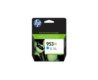 HP F6U16AE Mavi Renkli Mürekkep Kartuş (953XL)