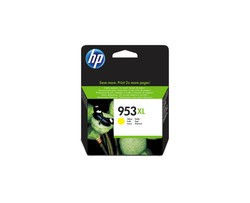 HP - HP F6U18AE Sarı Renkli Mürekkep Kartuş (953XL)