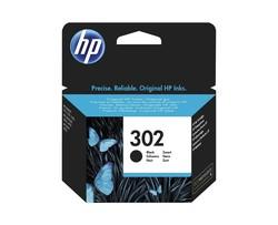 HP - HP F6U66AE Siyah Mürekkep Kartuş (302)