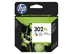 HP - HP F6U67AE (302XL) UC RENKLI YUKSEK KAPASITELI MUREKKEP KARTUSU 330 SAYFA
