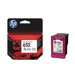 HP F6V24A Renkli Mürekkep Kartuş (652) - Thumbnail