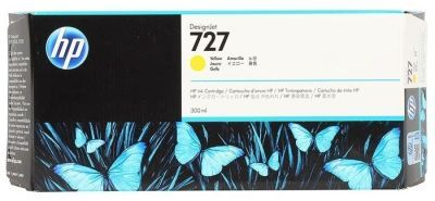 HP F9J78A No 727 Sarı Desıgnjet Kartuşu 300Ml
