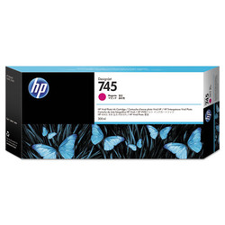 HP - HP F9K01A Magenta Mürekkep Kartuş (745)