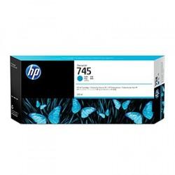 HP - HP F9K03A No 745 Mavi Desıgnjet Kartuşu 300Ml