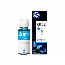 HP - HP M0H54AE (GT52) CYAN ŞİŞE MUREKKEP KARTUSU 8.000 SAYFA
