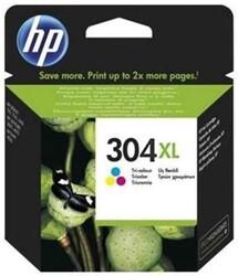 HP - HP No 304Xl Yüksek Kapasiteli Üç Renkli Kartuş (N9K07A)