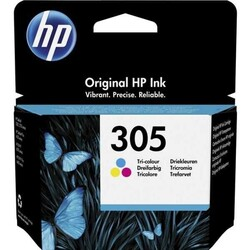 HP - HP No 305 3 Renkli Paket Kartuş 100 Sayfa (3YM60A)