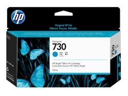 HP - HP P2V62A (730) CAMGOBEGI 130 ML GENIS FORMAT MUREKKEP KARTUSU