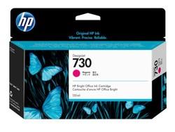 HP - HP P2V63A (730) MACENTA 130 ML GENIS FORMAT MUREKKEP KARTUSU