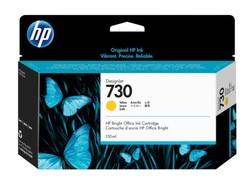 HP - HP P2V64A (730) SARI 130 ML GENIS FORMAT MUREKKEP KARTUSU