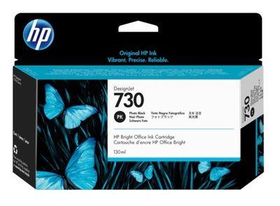 HP P2V67A (730) FOTOĞRAF SİYAHI 130 ML GENIS FORMAT MUREKKEP KARTUSU