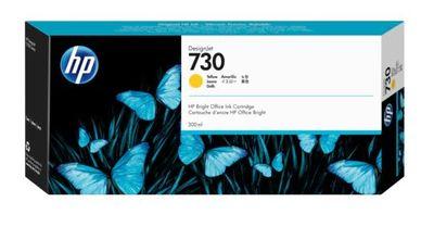 HP P2V70A (730) SARI 300 ML GENIS FORMAT MUREKKEP KARTUSU