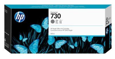 HP P2V72A (730) GRİ 300 ML GENIS FORMAT MUREKKEP KARTUSU