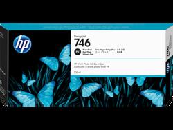 HP - HP P2V82A (746) 300 ML FOTOGRAF SIYAHI DESIGNJET MUREKKEP KARTUS