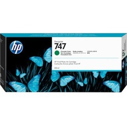 HP - HP P2V84A (747) 300 ML KROMATİK YEŞİL DESIGNJET