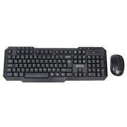 HYTECH HKM-58 GAMY PLUS Q Türkçe USB Siyah Yeşil Tuşlu Gaming Klavye+ Mouse