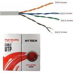 Hytech - Hytech HY-CAT500 Cat5 Utp ( 305 Metre ) Network Kablosu