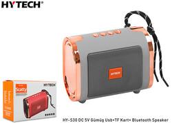 HYTECH - Hytech HY-S30 DC 5V Bluetooth Speaker Gümüş Usb+TF Kart+
