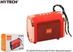 HYTECH - Hytech HY-S30 DC 5V Bluetooth Speaker Kırmızı Usb+TF Kart+