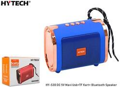 HYTECH - Hytech HY-S30 DC 5V Bluetooth Speaker Mavi Usb+TF Kart+