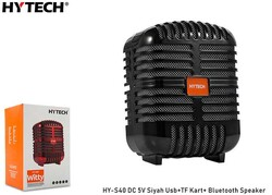 HYTECH - Hytech HY-S40 DC 5V Bluetooth Speaker Siyah Usb+TF Kart