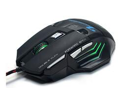 HYTECH - Hytech HY-X7 GAMY Usb Siyah Gaming Oyuncu Mouse