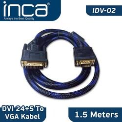 INCA - Inca Idv-02 1.5mt DVI 24+5 To Vga Çevirici Kablo