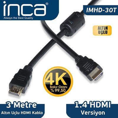 INCA IMHD-30T 3M 4K HDMI Kablo