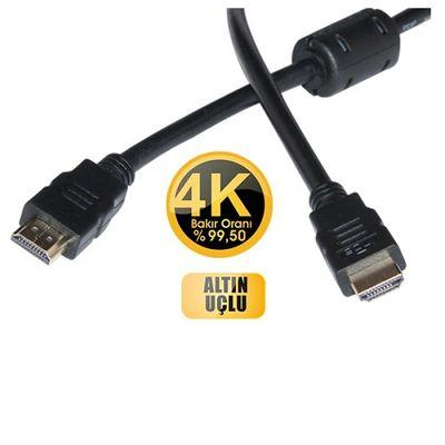 INCA IMHD-50T 5M v1,4 3D 4K Altın Uç HDMI Kablo