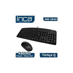 INCA - INCA IMK-384U Q MULTIMEDYA WIRED KLAVYE USB SET
