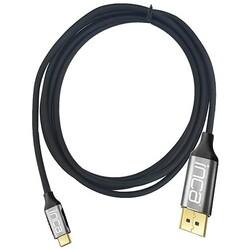 INCA - INCA ITCD-02TX 2metre TYPE-C - DP Görüntü Kablosu 4K