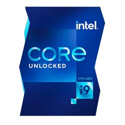 INTEL - INTEL CORE i9 11900K 16MB 8çekirdekli O-B UHD750 1200p 95w Kutulu+Fanlı