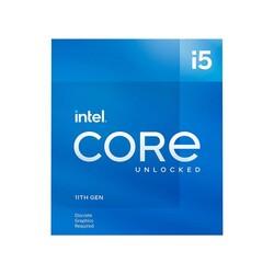INTEL - Intel i5-11400F 2.6 GHz 4.4 GHz 12MB LGA1200PVGA'sız, 65W, Fanlı