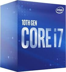 INTEL - INTEL i7 10700KF 3.80GHz 16M FCLGA1200 CPU İŞLEMCİ BOX FANSIZ