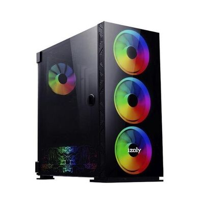IZOLY AX6 ARGB CYBERPUNK 4X14CM FULL GLASS 700W