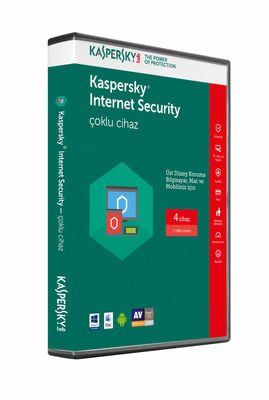 KASPERSKY INTERNET SECURITY MULTI DEVICE 2017 4 KULLANICI 1 YIL