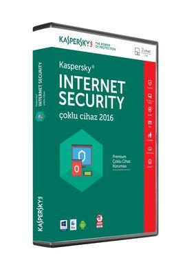 KASPERSKY INTERNET SECURTY 2 KULLANICILI 2018 TR 1 YIL DVD
