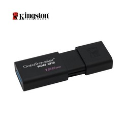 KINGSTON - Kingston 128GB Usb3.0 Bellek DT100G3/128GB