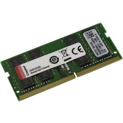 KINGSTON 32GB DDR4 2666MHZ CL19 NOTEBOOK RAM VALUE KVR26S19D8-32