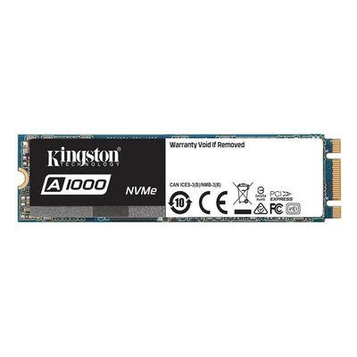 Kingston 480GB A1000 NVMe M.2 SA1000M8/480G