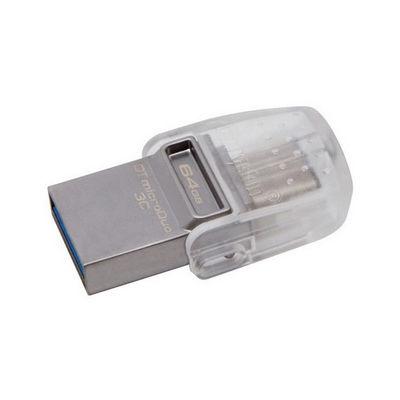 KINGSTON 64GB MicroDUO + TYPE-C USB 3.1 Flash Disk DTDUO3C/64GB