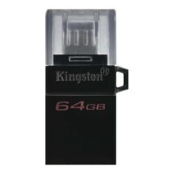 KINGSTON - Kingston DTDUO3G2-64GB DT MicroDuo 3 Gen2 + microUSB (Android-OTG) Çift Taraflı Flash Bellek