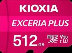 KIOXIA - KIOXIA 512GB normalSD EXCERIA PLUS UHS1 R100 (LNPL1M512GG4)