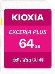 KIOXIA - KIOXIA 64GB normalSD EXCERIA PLUS UHS1 R100 (LNPL1M064GG4)