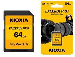 KIOXIA - KIOXIA 64GB normalSD EXCERIA PRO UHS-II (LNPR1Y064GG4)