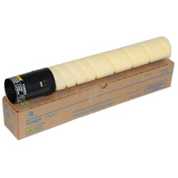 MINOLTA - Konica Minolta TN-216Y Yellow Sarı Kırmızı Orjinal Fotokopi Toneri Bizhup C220-280 26.000 Sayfa