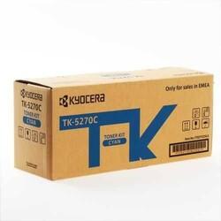 KYOCERA - Kyocera TK-5270C Cyan Mavi Orjinal Fotokopi Toneri Ecosys M6230cdn-M6230cidn-M6630cdn 6.000 Sayfa
